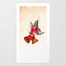 Bttrfly Art Print