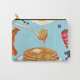 Pancake Mandala Carry-All Pouch