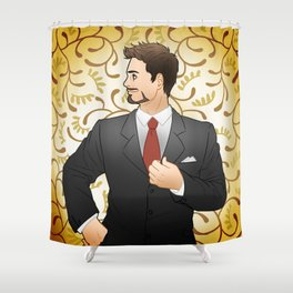 Suited Tony Shower Curtain