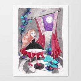 Noche en la torre Canvas Print