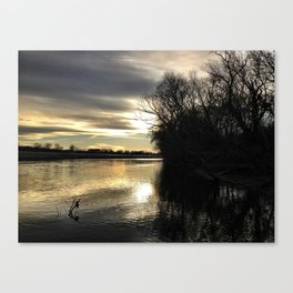Its Getting Cold All Over Again Canvas Print