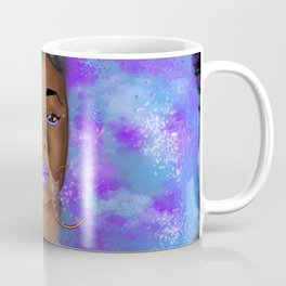 Cosmic Afro Puffs V2  Coffee Mug