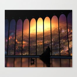 The Overseer Canvas Print