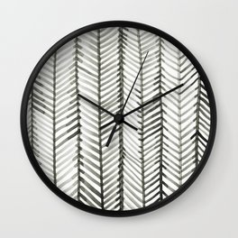 Quill Grid Wall Clock