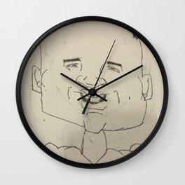 Earl Thomas Caricature Wall Clock