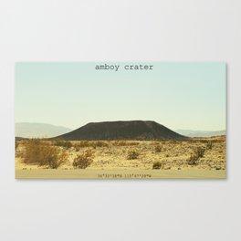 Amboy Crater Canvas Print