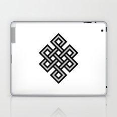 Tibetan knot symbol Laptop & iPad Skin
