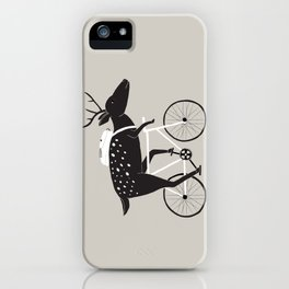 Dear Cyclist iPhone Case