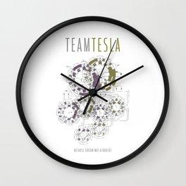 Team Tesla Wall Clock
