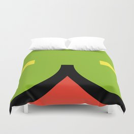 face 2 Duvet Cover