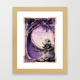 Midsummer Night's Dream Framed Art Print