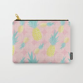 Pink + Pineapples Carry-All Pouch