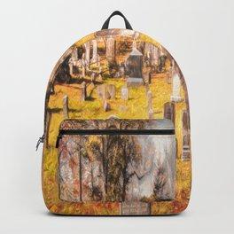 Art Of Sleepy Hollow Cemetery Backpack