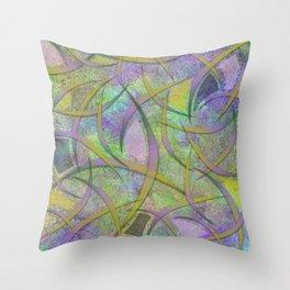 Filament Fever Throw Pillow