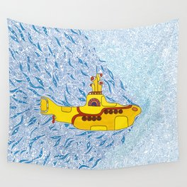 My Yellow Submarine Wall Tapestry