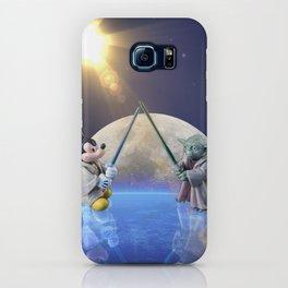 Mickey Vs Yoda iPhone Case