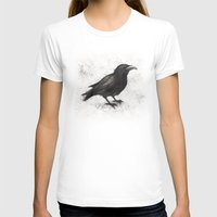crow T-shirts featuring Crow by Puddingshades
