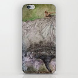 Dancer in the Storm iPhone Skin