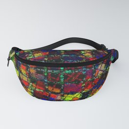 Urban Psychedelic Abstract Fanny Pack