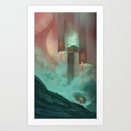 Temple of Earth Art Print