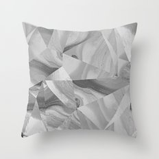 Irregular Marble II Throw Pillow