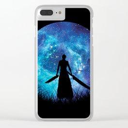 Bankai Silhouette Ichigo Clear iPhone Case