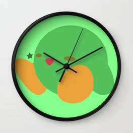 Kirby(Smash)Green Wall Clock