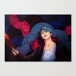BTS JIMIN AWESOME Canvas Print