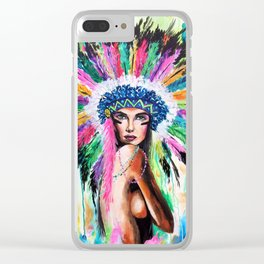 Lena Clear iPhone Case