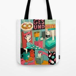 GESUNDHEIT Tote Bag