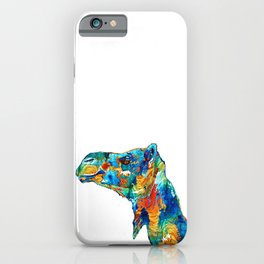 Colorful Camel Art By Sharon Cummings iPhone Case