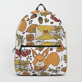 Fall Pattern #3 Backpack