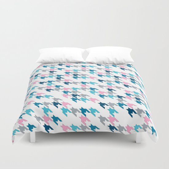 Pink Tooth Duvet Cover