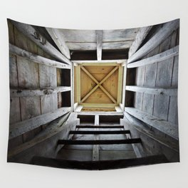 Up the Rung Ladder Wall Tapestry