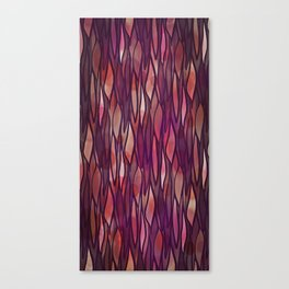 Rouge Willow Canvas Print
