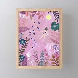 Flow Framed Mini Art Print