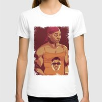true blood T-shirts featuring True Blood - Lafayette/Blade by Mike Wrobel