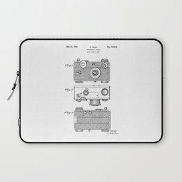 patent photographic camera 1938 Laptop Sleeve