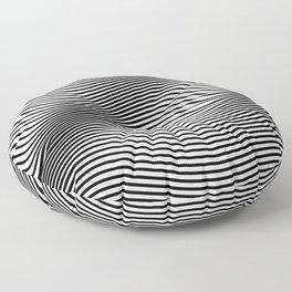 Bold Minimal Lines Floor Pillow