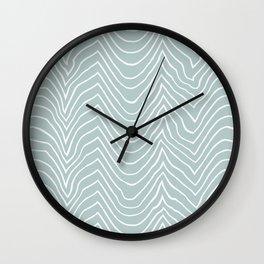 wiggly-sea Wall Clock