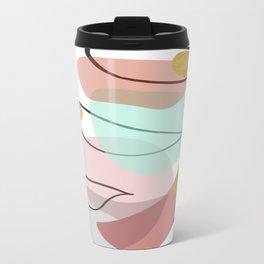 Modern minimal forms 15 Metal Travel Mug