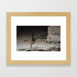 Incense, In a sense Framed Art Print