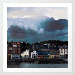 Oban, Scotland Art Print