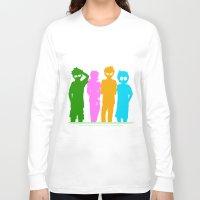 homestuck Long Sleeve T-shirts featuring Homestuck Alpha Kids by Crimsonreaper67