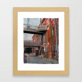 River Street Framed Art Print
