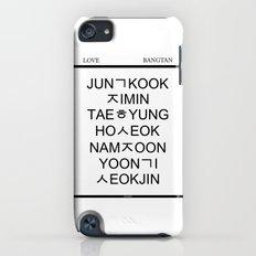 BTS Hangul Time! iPod touch Slim Case