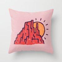 utah Throw Pillows featuring Utah by WEAREYAWN