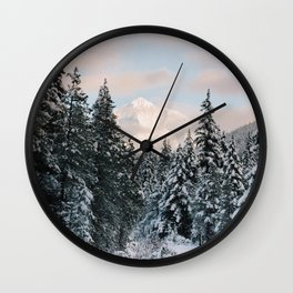 Mt. Hood National Forest Wall Clock