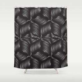 Metallic clew Shower Curtain