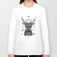 dear Long Sleeve T-shirts featuring Dear  by Drawing For Hope